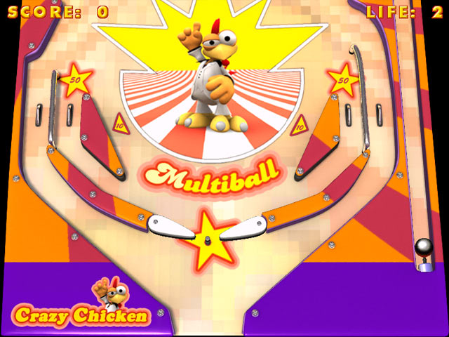 Screen: Crazy Pinball: 1 ...