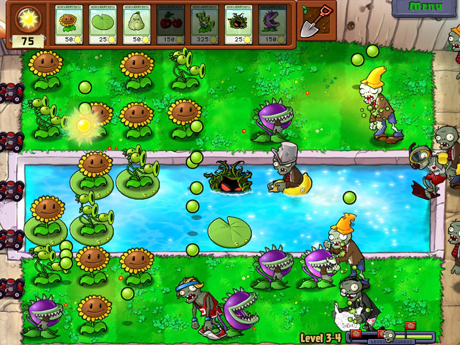 Растения против зомби 1 фотография
